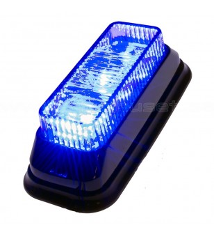 Flitslamp Blauw 3x1W LED - 500340 - Verlichting - Unspecified