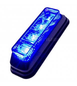 Flashlight Blue 4x1W LED - 500440 - Lighting - Unspecified