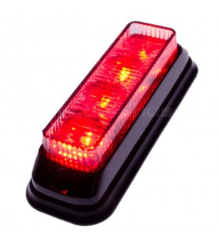 Flashlight Red 4x1W LED - 500420 - Lighting - Unspecified