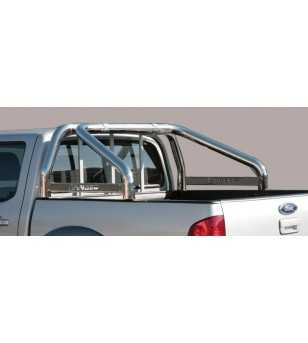 Ranger 06-08 Roll Bar on Tonneau Inscripted - 2 pipes - RLSS/K/2204/IX - Rollbars / Sportsbars - Unspecified - Verstralershop