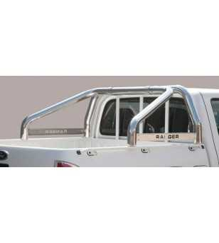 Ranger 09-11 Roll Bar on Tonneau Inscripted - 2 pipes