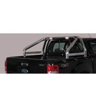 Ranger 12- Roll Bar on Tonneau Inscripted - 2 pipes - RLSS/K/2295/IX - Rollbars / Sportsbars - Unspecified