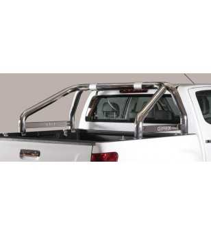 D-Max 12- Roll Bar on Tonneau Inscripted - 2 pipes