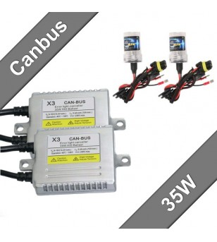 Canbus Slim Xenon Kit 35W 12V - 332100 - Verlichting - Unspecified