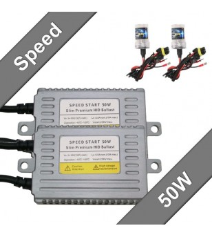 speed start slim kit 50W 12V - 328100 - Verlichting - Unspecified - Verstralershop
