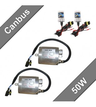 Canbus xenon kit 50W 12V - 331100 - Verlichting - Unspecified