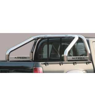 BT50 06-09 Roll Bar on Tonneau Inscripted - 2 pipes