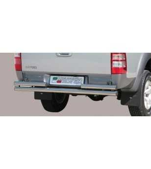 Ranger 06-08 Double Rear Protection - 2pp/204/IX - Rearbar / Opstap - Unspecified