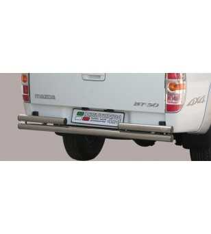 BT50 09-12 Double Rear Protection - 2PP/252/IX - Rearbar / Rearstep - Unspecified - Verstralershop