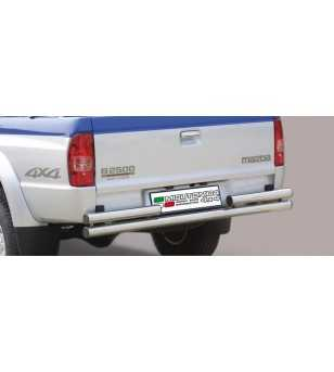 B2500 03-06 Double Rear Protection - 2PP/141/IX - Rearbar / Opstap - Unspecified