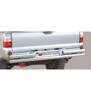 L200 -05 Double Rear Protection - 2PP/66/IX - Rearbar / Rearstep - Unspecified