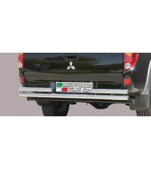 L200 06-09 Double Rear Protection - 2PP/178/IX - Rearbar / Rearstep - Unspecified