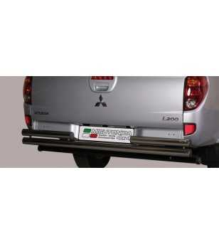 L200 10- Club Cab Double Rear Protection - 2PP/262/IX - Rearbar / Rearstep - Unspecified