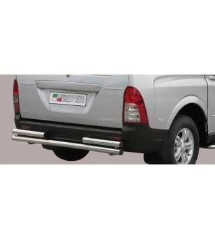 Actyon Sports 07-11 Double Rear Protection - 2PP/206/IX - Rearbar / Rearstep - Unspecified