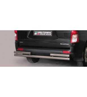 Actyon Sports 12- Double Rear Protection - 2PP/311/IX - Rearbar / Opstap - Unspecified