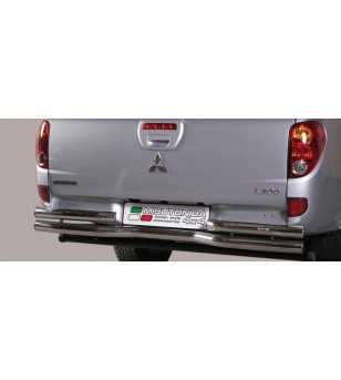 L200 10- Double Cab Double Bended Rear Protection - DBR/260/IX - Rearbar / Rearstep - Unspecified