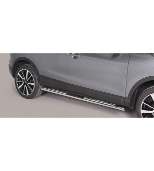 Qashqai 2014- Design Side Protection Oval - DSP/363/IX - Sidebar / Sidestep - Unspecified