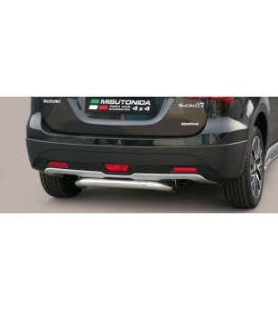 SX4 S-CROSS 2013- Rear Protection - PP1/357/IX - Rearbar / Rearstep - Verstralershop