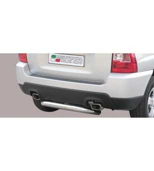 Sportage 09-10 Rear Protection - PP1/228/IX - Rearbar / Opstap - Unspecified