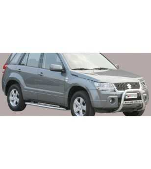 Grand Vitara 05-08 Medium Bar ø63 Inscripted EU - EC/MED/K/168/IX - Bullbar / Lightbar / Bumperbar - Unspecified