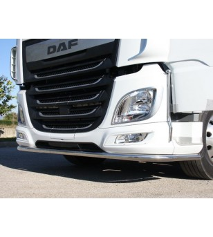 DAF XF 106 Front bumber bar full 60mm - 002D60XF106 - Bullbar / Lightbar / Bumperbar - Acitoinox - Italian series - Verstralersh