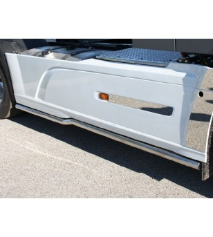DAF XF 105 euro 5 - 6 Sidebar Right Stainless steel - 004D XF E6 2013 - Sidebar / Sidestep - Unspecified