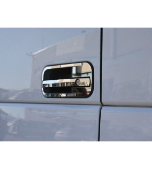 DAF XF 105 euro 5 - 6 Chrome rvs covers voor deurhendel - 011D XF E6 2013 - RVS / Chrome accessoires - Unspecified