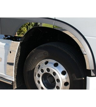 DAF XF 105 euro 5 - 6 Spatbord omlijsting RVS - 013D XF E6 2013 - RVS / Chrome accessoires - Unspecified