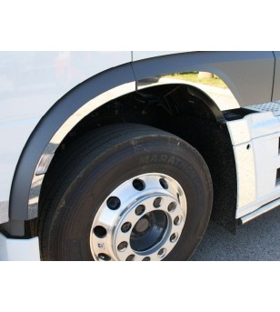 DAF XF 106 front fenders lists stainless