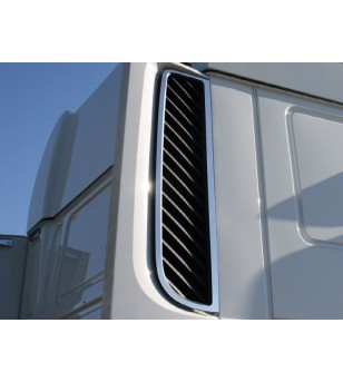 DAF XF 106 Stainless Air Filter Frame - 014DXF106 - Stainless / Chrome accessories - Acitoinox - Italian series - Verstralershop