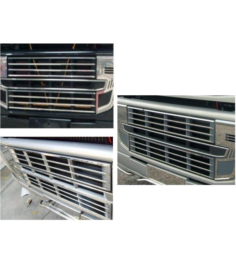 Volvo FH Cover Lower Grille For Fh 2009 - 027V - Grille - Acitoinox - Italian series - Verstralershop