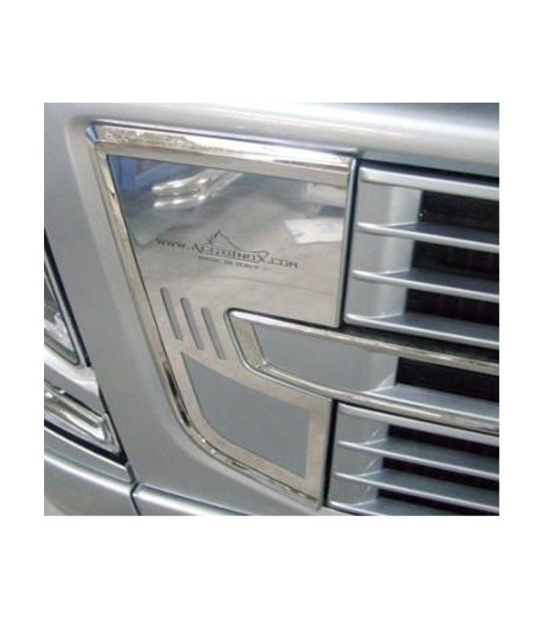 Volvo FH Vehicle Horn Cover - 025V - Stainless / Chrome accessories - Acitoinox - Italian series - Verstralershop