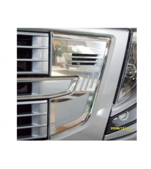Volvo FH Vehicle Horn Cover - 025V - RVS / Chrome accessoires - Acitoinox - Italian series - Verstralershop