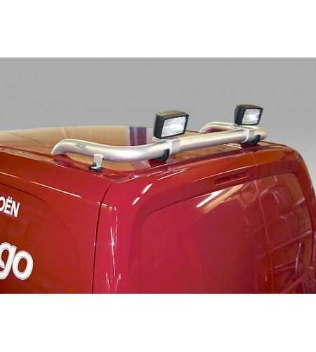 Berlingo 08- T-Rack rear - TB90002 - Roofbar / Roofrails - QPAX T-Rack