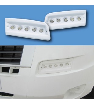 Citroën Jumper 2007- Day Time Running Light Kit POD White - LRX250W - Verlichting - Unspecified
