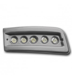Fiat Ducato 2007- Day Time Running Light Kit POD Silver