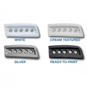 Fiat Ducato 2007- Day Time Running Light Kit POD Black (unpainted)