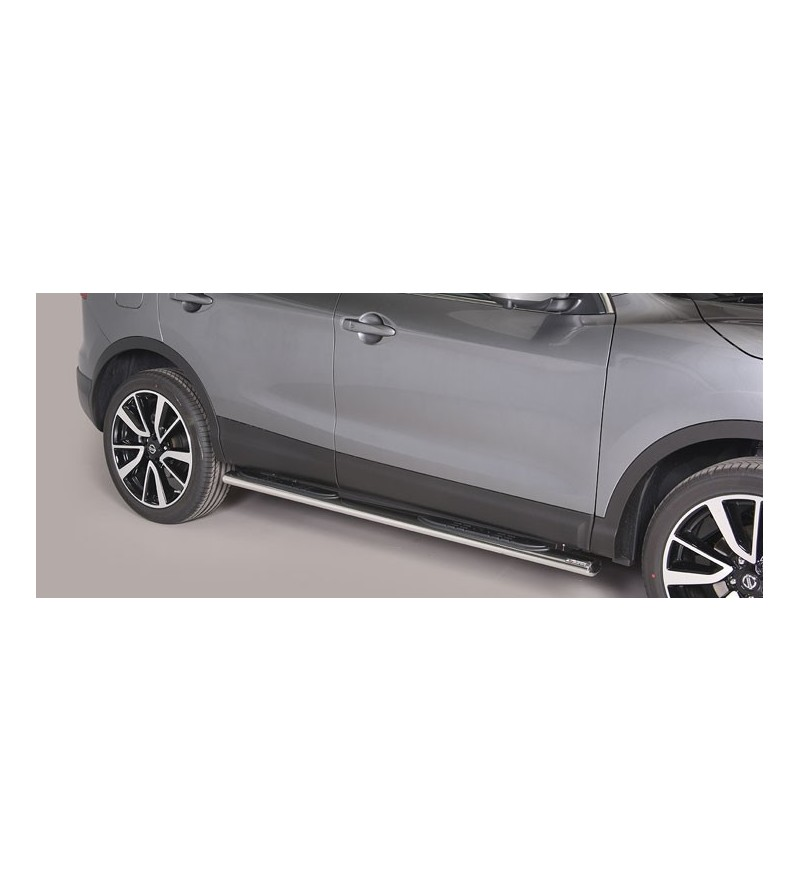 Qashqai, Oval Side Bars with steps - GPO/363/IX - Sidebar / Sidestep - Unspecified - Verstralershop