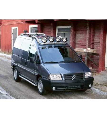 Jumpy 97-06 T-Rack front - TF90002 - Roofbar / Roofrails - QPAX T-Rack