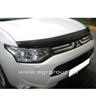 Mitsubishi Outlander 2012- Stone Guard - 26231 - Overige accessoires - Unspecified