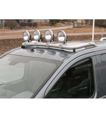 Jumpy 07- T-Rack front - TF90001 - Roofbar / Roofrails - QPAX T-Rack