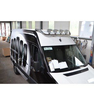 Volkswagen LT 1997- H2 Roofbar Stainless - RB-BRAGVWLT97 - Roofbar / Roofrails - Unspecified