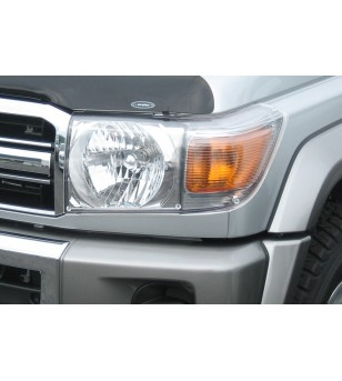 Landcruiser  70 07- Headlamp Protectors blank - HG694C - Other accessories - Airplex Light Protectors