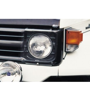 Landcruiser 70 1990-2006 Headlamp Protectors blank - HG539C - Other accessories - Airplex Light Protectors