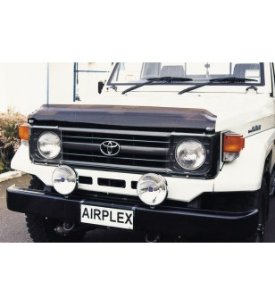 Landcruiser 70 1990-2006 Hood Guard - BG314DB - Other accessories - Airplex Stoneguards
