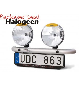 QPAX 2 Lights Halogeen (excl verstralers) - pqh2s - Overige accessoires - Unspecified