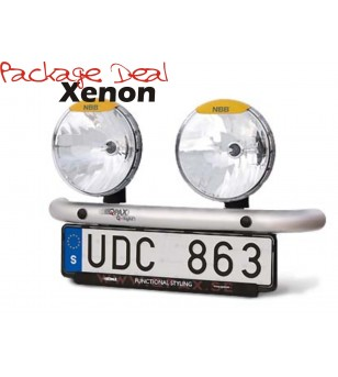 QPAX 2 Lights Xenon (excl verstralers) - pqx2s - Overige accessoires - Unspecified