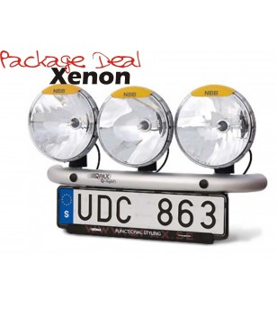 QPAX 3 Lights Xenon (excl verstralers) - pqx3s - Overige accessoires - Unspecified