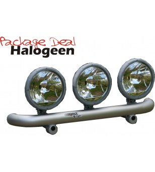 QPAX-Wide 3 Lights Halogen (excl lights)
