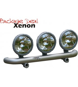 QPAX-Wide 3 Lights Xenon (excl verstralers) - pqx3w - Overige accessoires - Unspecified